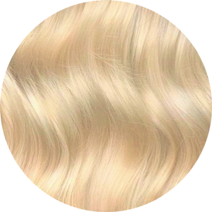 Bleach Blonde Clip-In Bangs
