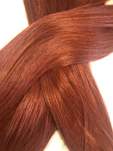 "Load image into Gallery viewer, Burgundy Tape Hair-24""-100g"