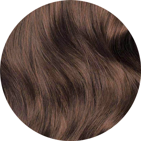 Coffee Brown Clip-In Hair Extensions-24