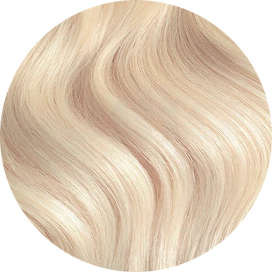 "Platinum Blonde-Virgin Hair-20""-180g"