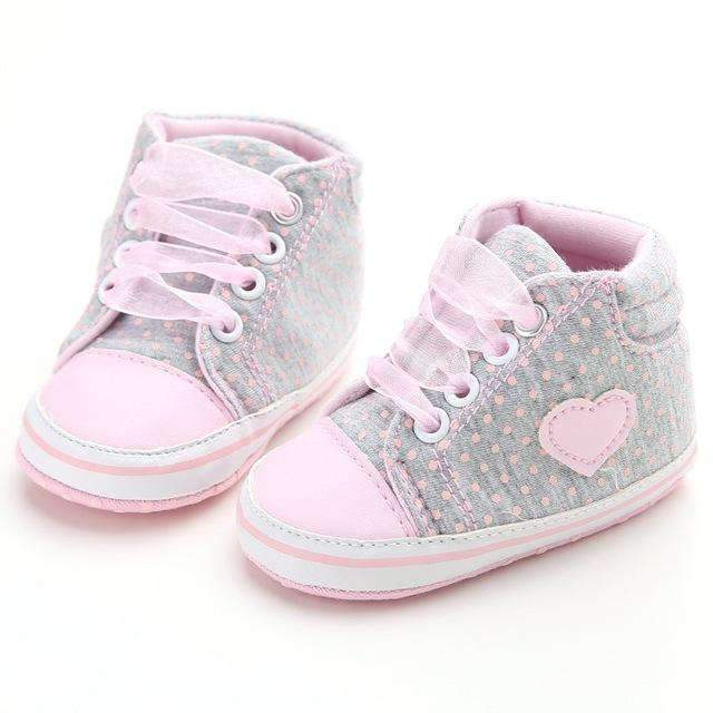 laylloo Shoes A / 7-12 Months Baby Shoes Letter Printed 0-12M for Newborn