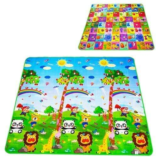 laylloo Big tree letters / 200cmX180cmX5mm Baby PlayBaby play mats for floor 4 Puzzles Foam