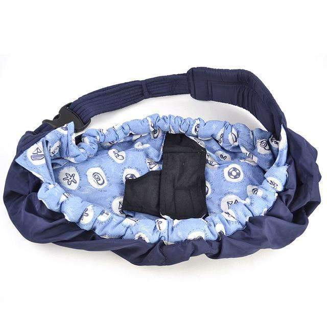 laylloo Carrier Swaddle Sling Blue Flower Newborn Baby Carrier Swaddle Sling