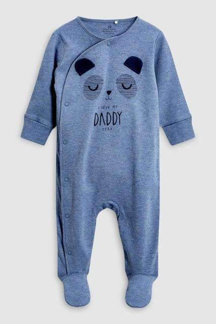 laylloo Rompers Blue / Newborn Cartoon Baby Clothes Bear Romper for Newborn