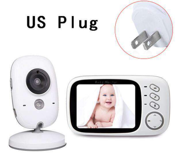 laylloo Baby Monitor CVB603-US NEW 3.2 inch LCD Baby Monitor