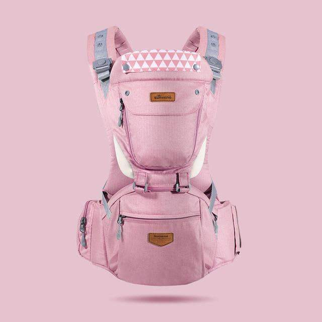 laylloo Ergonomic Baby carrier general pink Front Facing Baby Carrier SlingTravel 0-36M