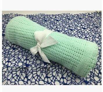 laylloo Green fruit Baby Cotton Blanket Super Soft