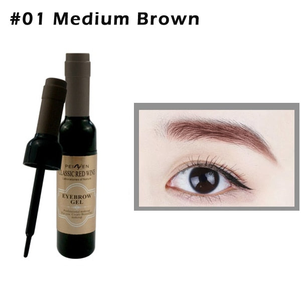 Eyebrow Tattoo Gel Black Coffee Gray