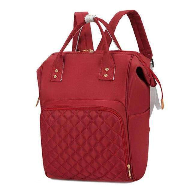 laylloo diaper bag Red Diaper Backpack Fashion 5 Solid Color