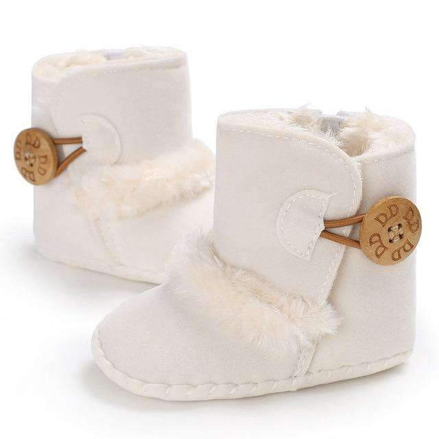 laylloo Shoes White / 0-6 Months Newborn baby boots Winter Half