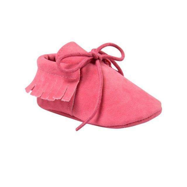 laylloo Shoes XR / 7-12 Months Baby leather shoes Moccasins