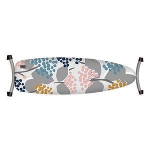 grey pink blue yellow floral ironing board cover
