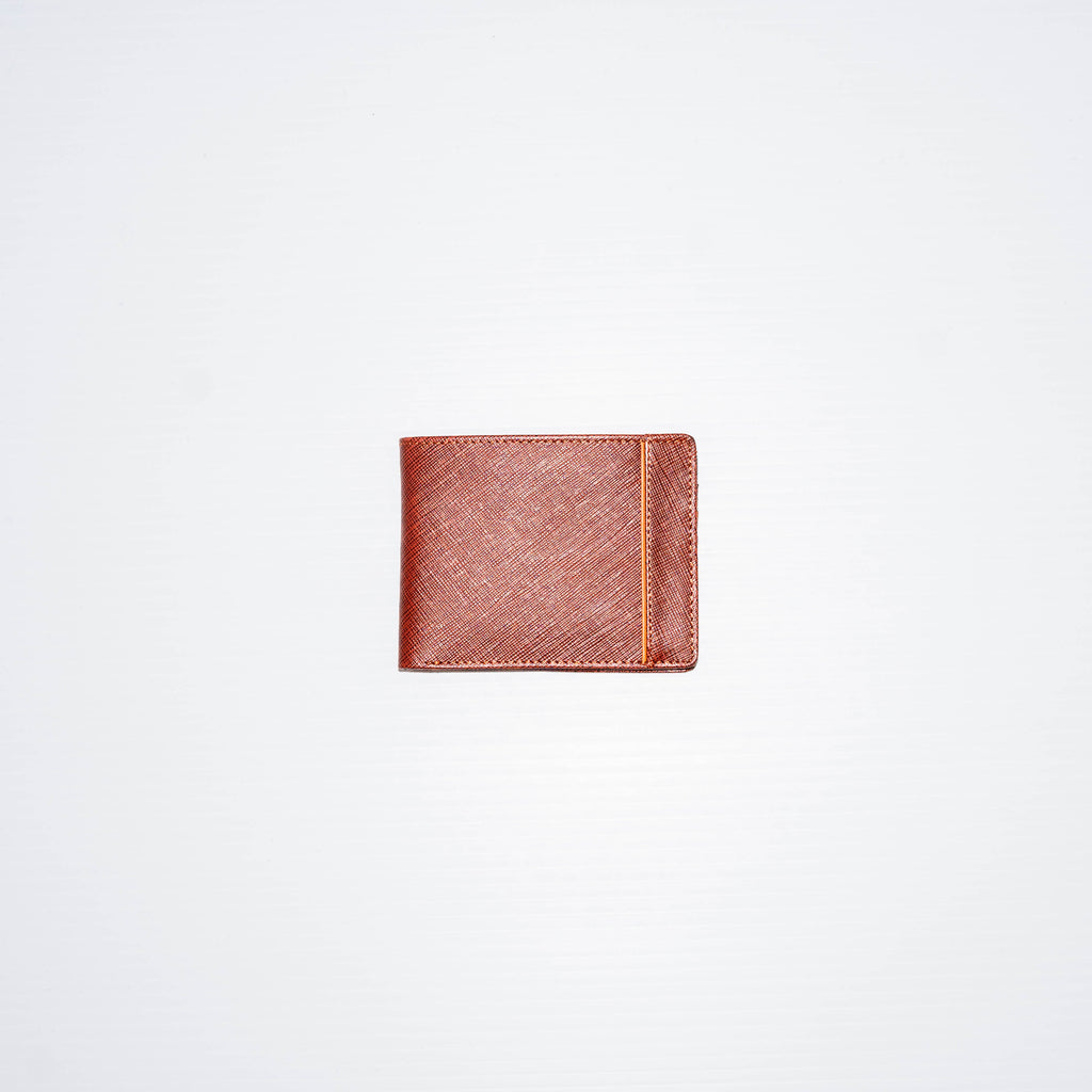 This top grain leather wallet is a sleep leather bi-fold wallet able to hold 20+ cards all while keeping a slimmer profile that is perfect for your everyday use. The soft leather finish gives the wallet a luxury feels that will stand the best overtime.