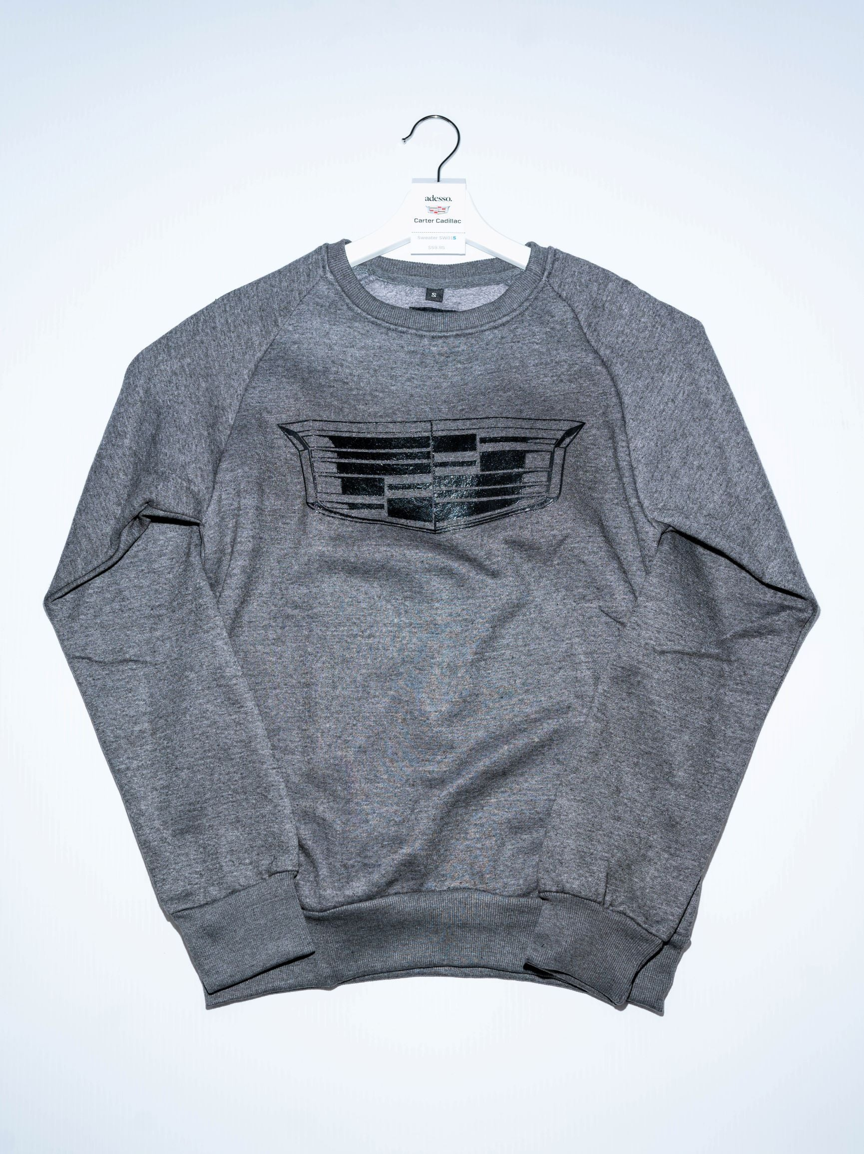 This unisex sweatshirt 100% cotton, and 110% cozy.