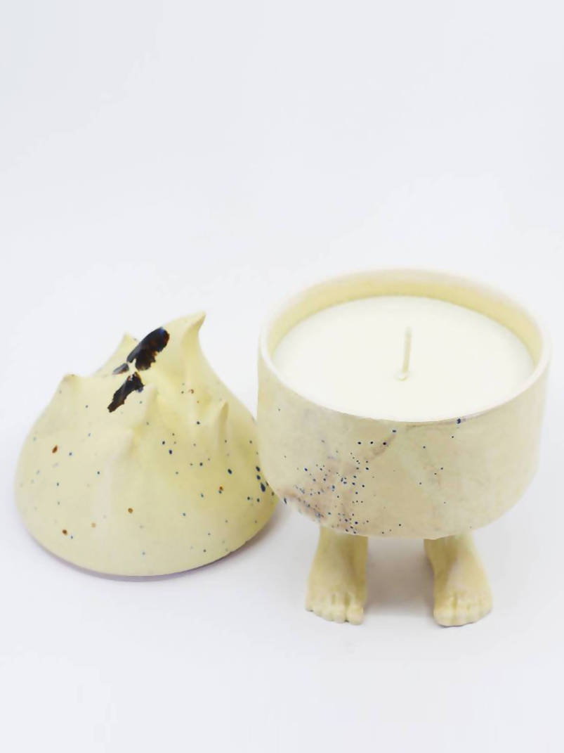 PAN OGIEŃ Ceramic Candle CREAMY MOOD