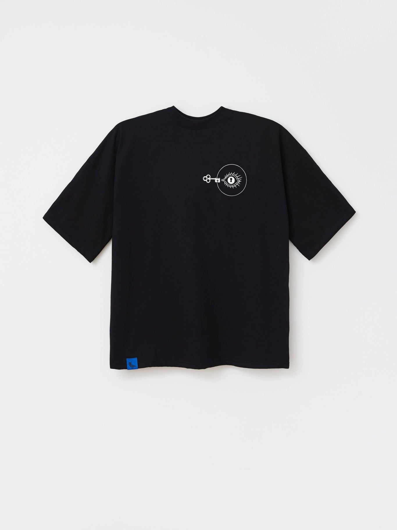 T-SHIRT GO INSIDE BLACK