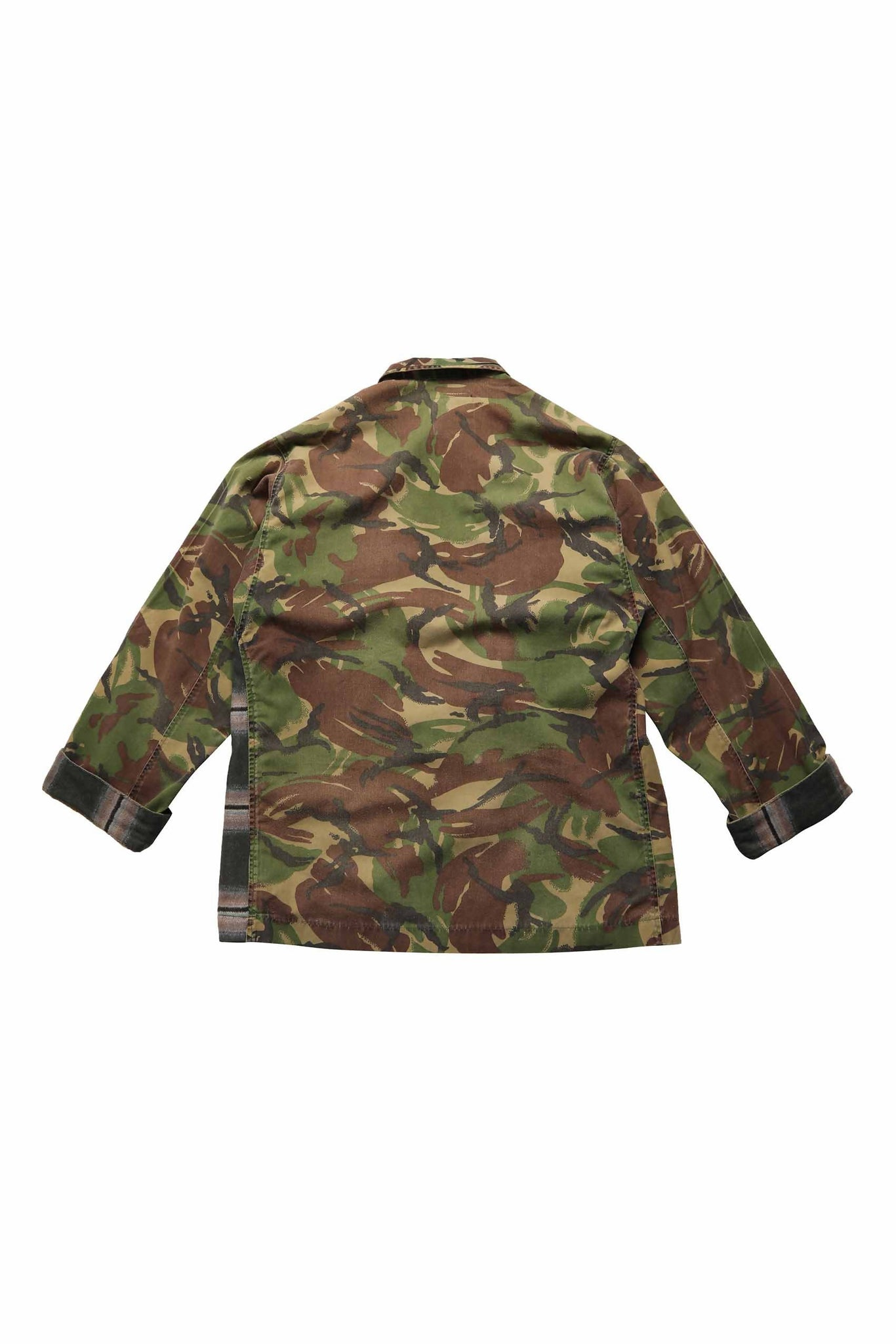 GBJ9HC CHECKED ARMY JACKET