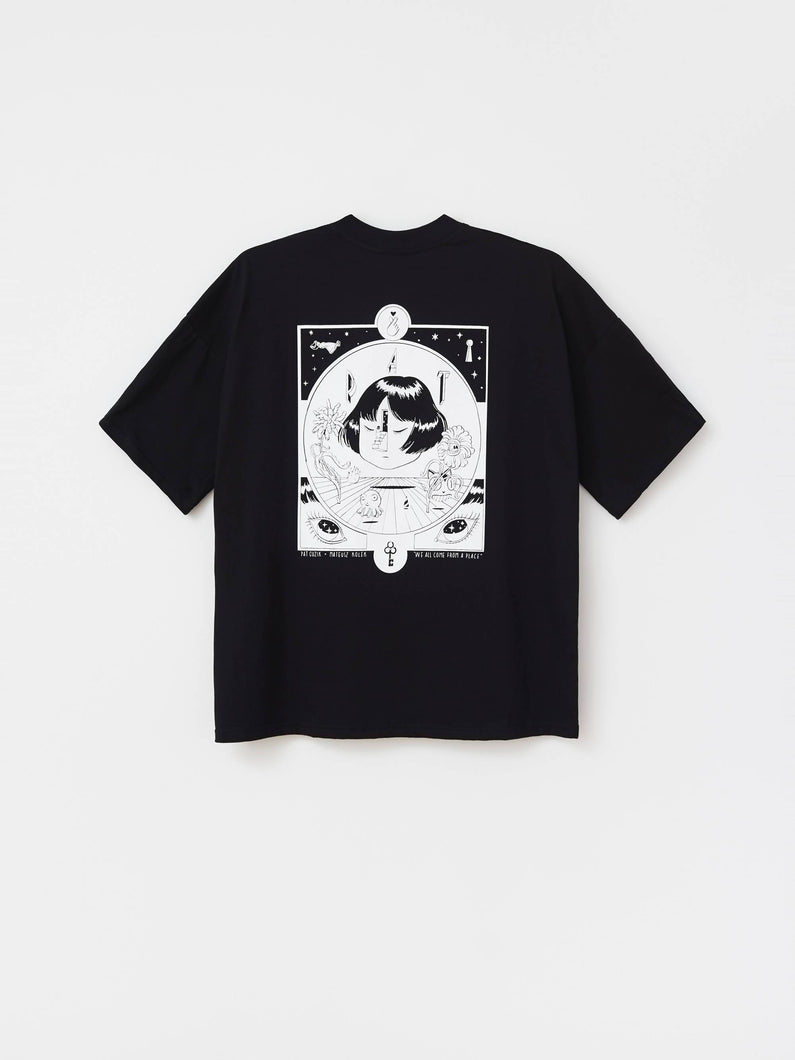 Load image into Gallery viewer, T-SHIRT GO INSIDE BLACK