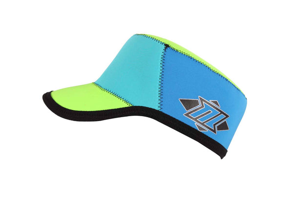 REVERSIBLE NEOPRENE CAP BLUE