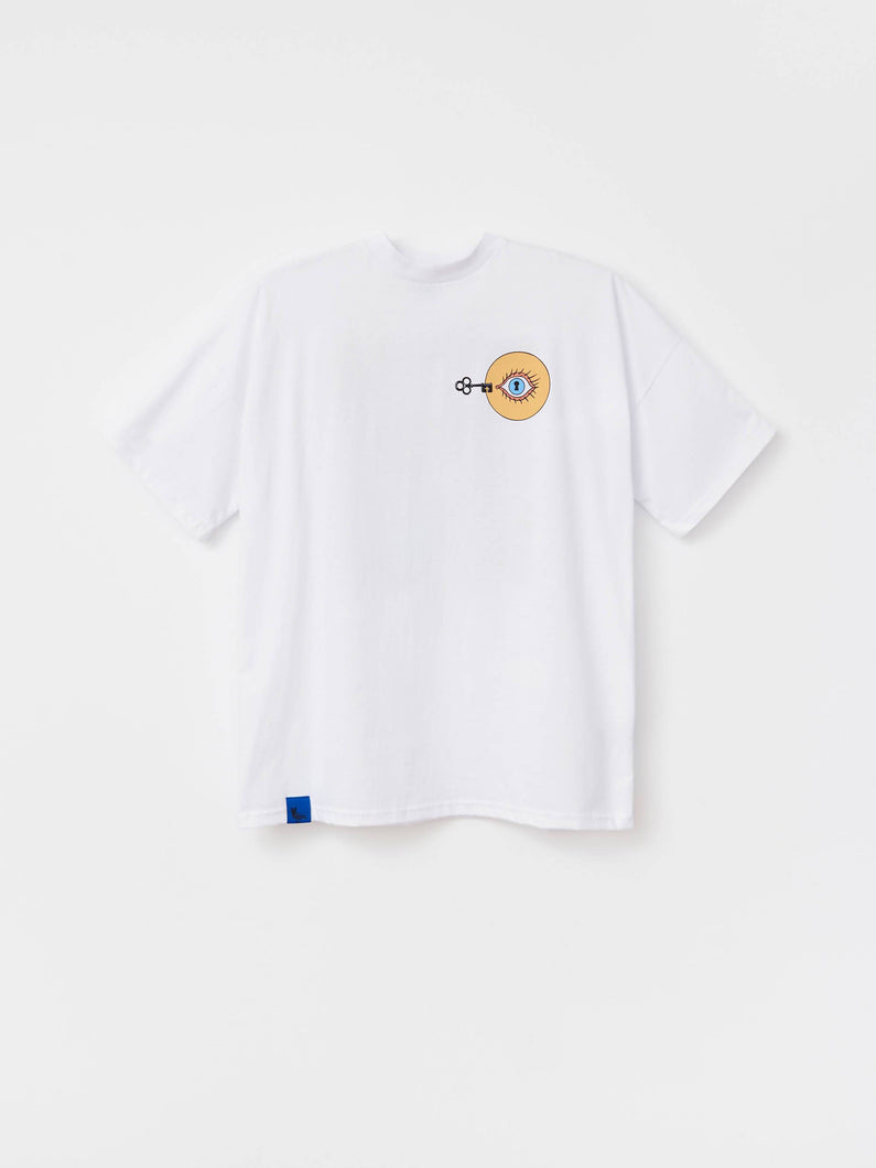 Load image into Gallery viewer, T-SHIRT GO INSIDE WHITE