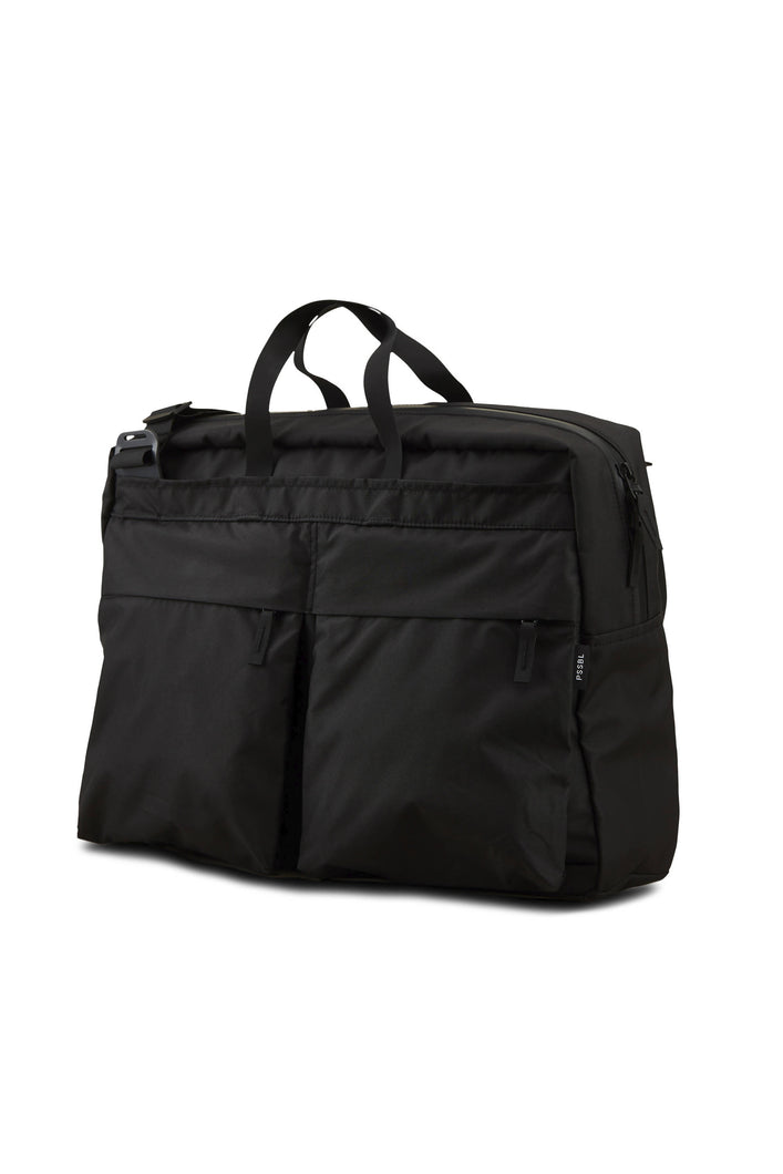 Load image into Gallery viewer, PSSBL THE COURIER BAG BLACK