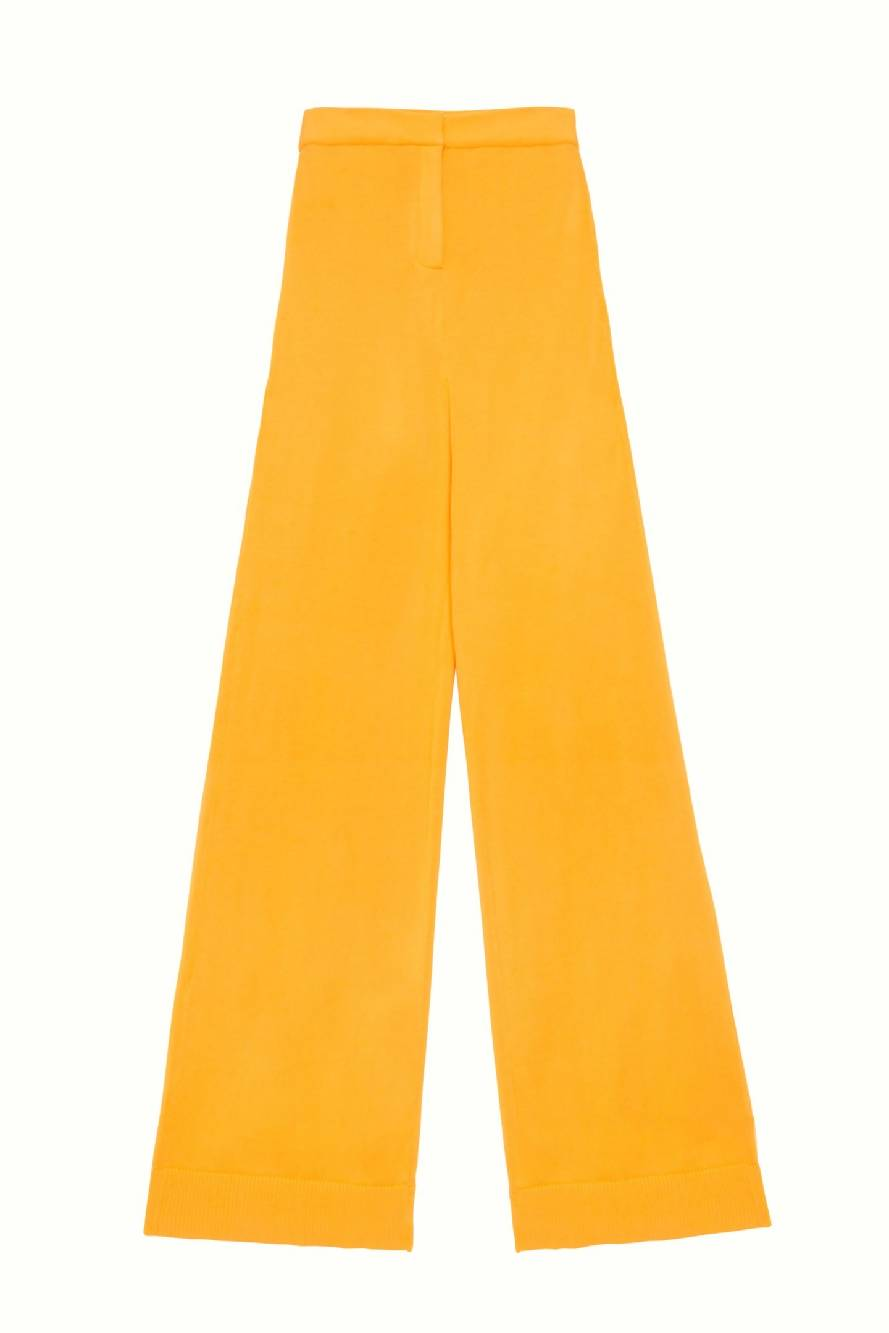 KNIT TAILORED TROUSERS