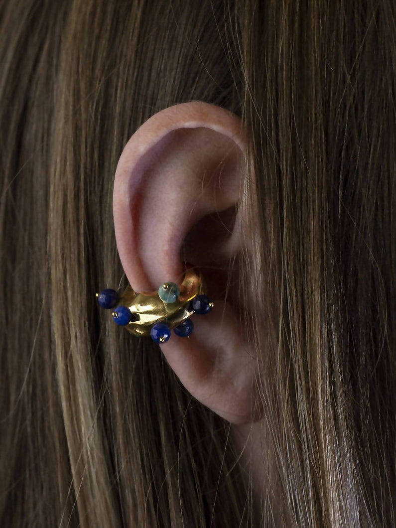Load image into Gallery viewer, Ear Cuff Gems