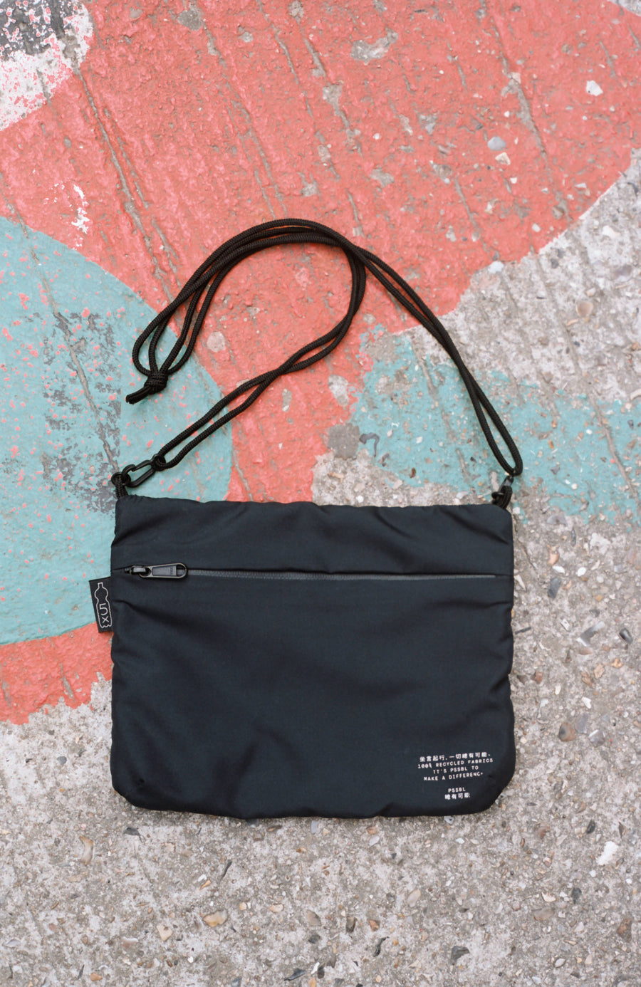 PSSBL CROSS BAG BLACK