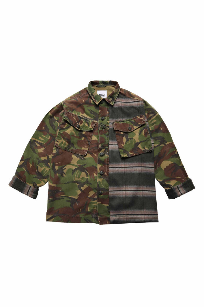 Load image into Gallery viewer, GBJ9HC CHECKED ARMY JACKET