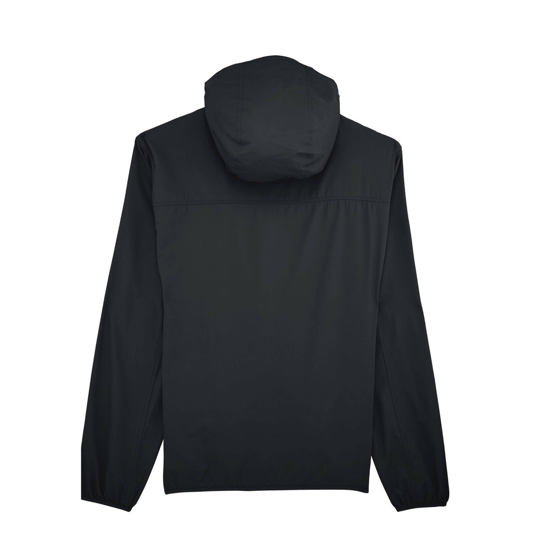 Load image into Gallery viewer, BACKTOBACK Black Recycled Windbreaker