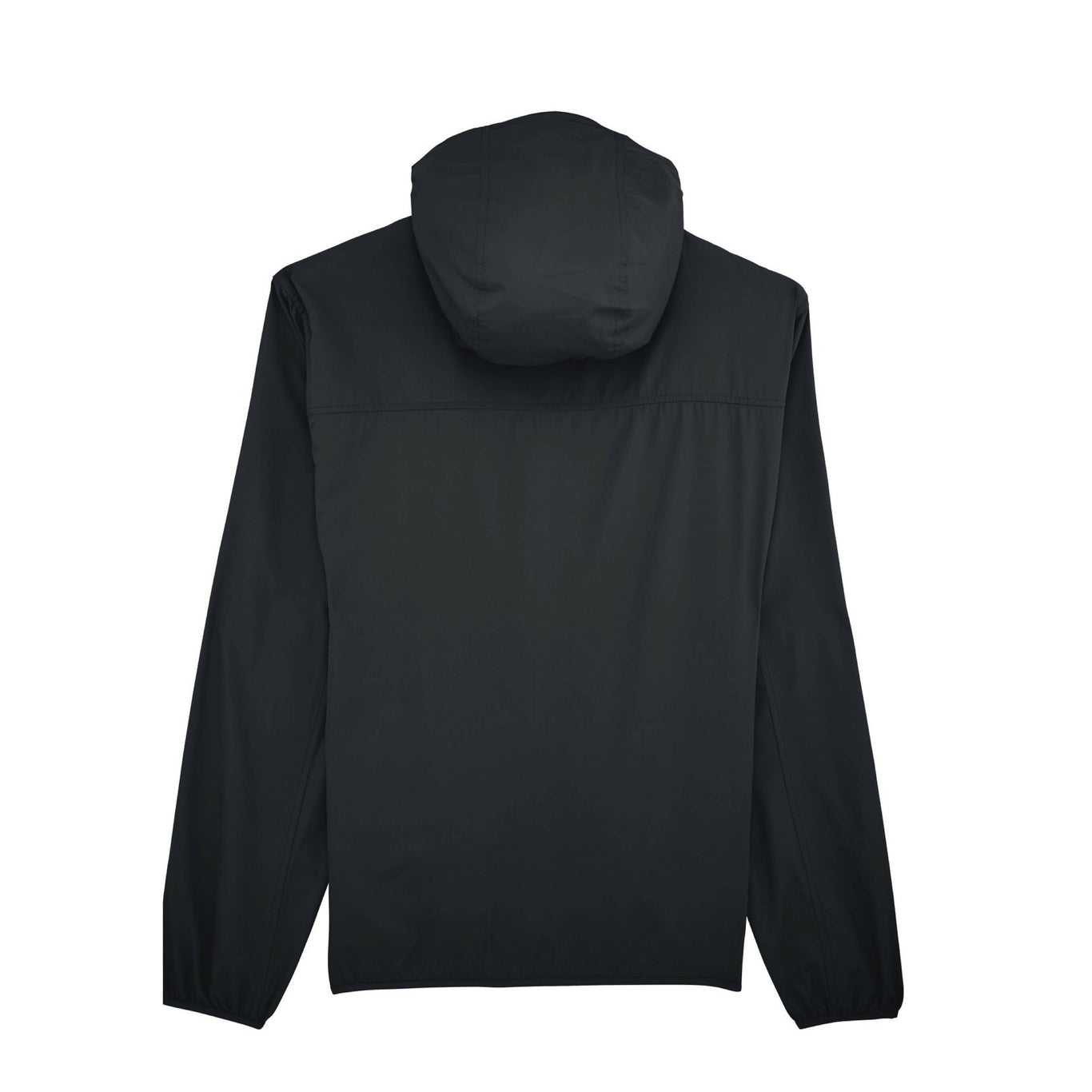 BACKTOBACK Black Recycled Windbreaker