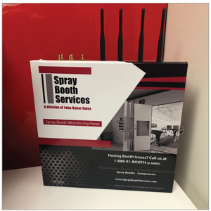 Spray Booth Monitoring System - Spray Booth Services