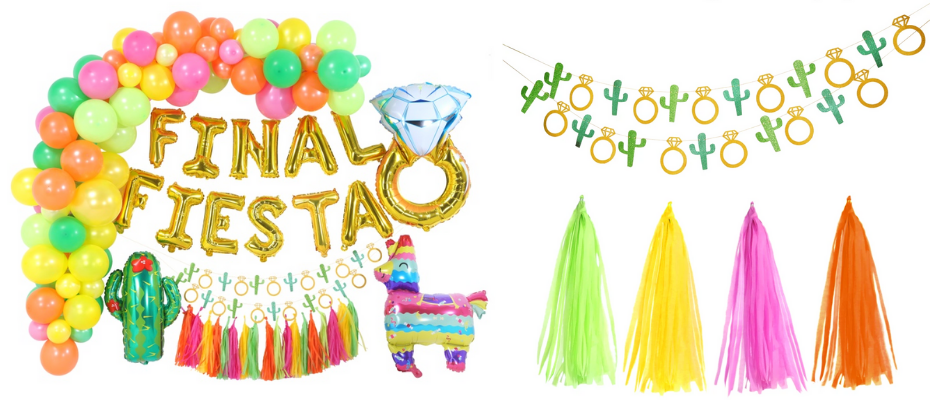 Final Fiesta Decorations | Bachelorette Party |