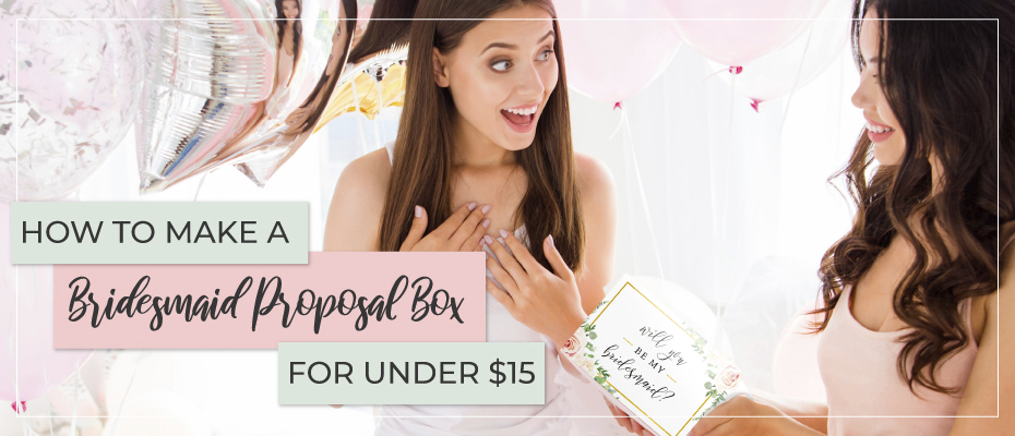 Bridesmaid Proposal Box | Bridesmaid Gifts | Bachelorette | Bridesmaid | Bridesmaid Gift Boxes |