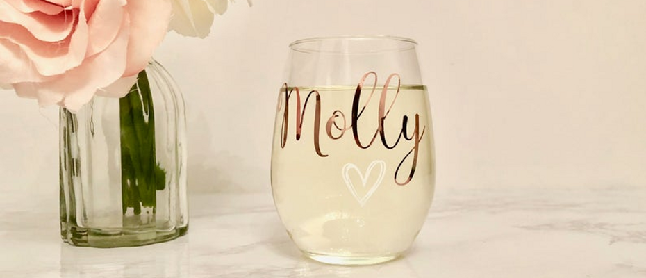 Wine Glasses | Bridesmaid Proposal Box | Proposal Box Items | Bridesmaid Gifts | Bridesmaid Gift Ideas | Bridesmaid | Bahcelorette Party | Bachelorette Party Gifts |