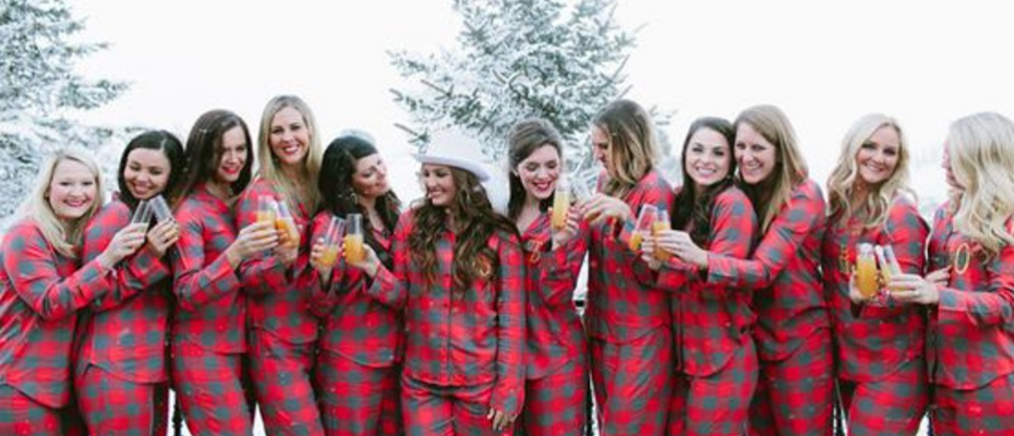 Winter bachelorette party ideas Christmas bachelorette party ideas