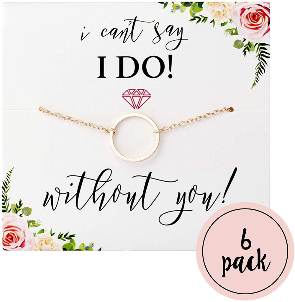 "I Can't Say""I Do"" Without You Necklaces"