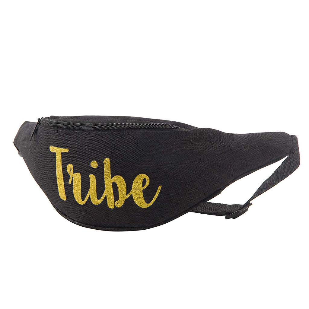 Tribe Bachelorette Fanny Packs- Cursive Text (1 Pack)