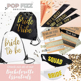 Bachelorette Slap Bracelets | Bachelorette Party Favors | Bride Tribe Gifts
