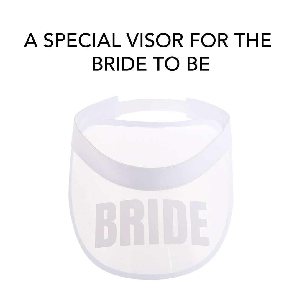 Bridesmaid Poker Visors