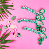 Flamingo Hair Ties