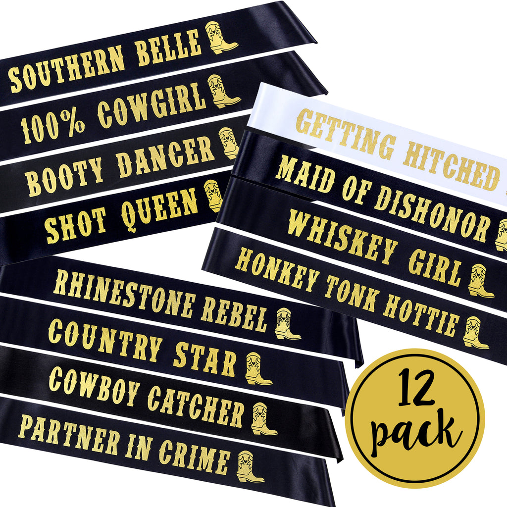 Nashville Bachelorette Sashes