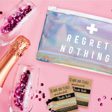 Bachelorette Party Hangover PVC Makeup Bag
