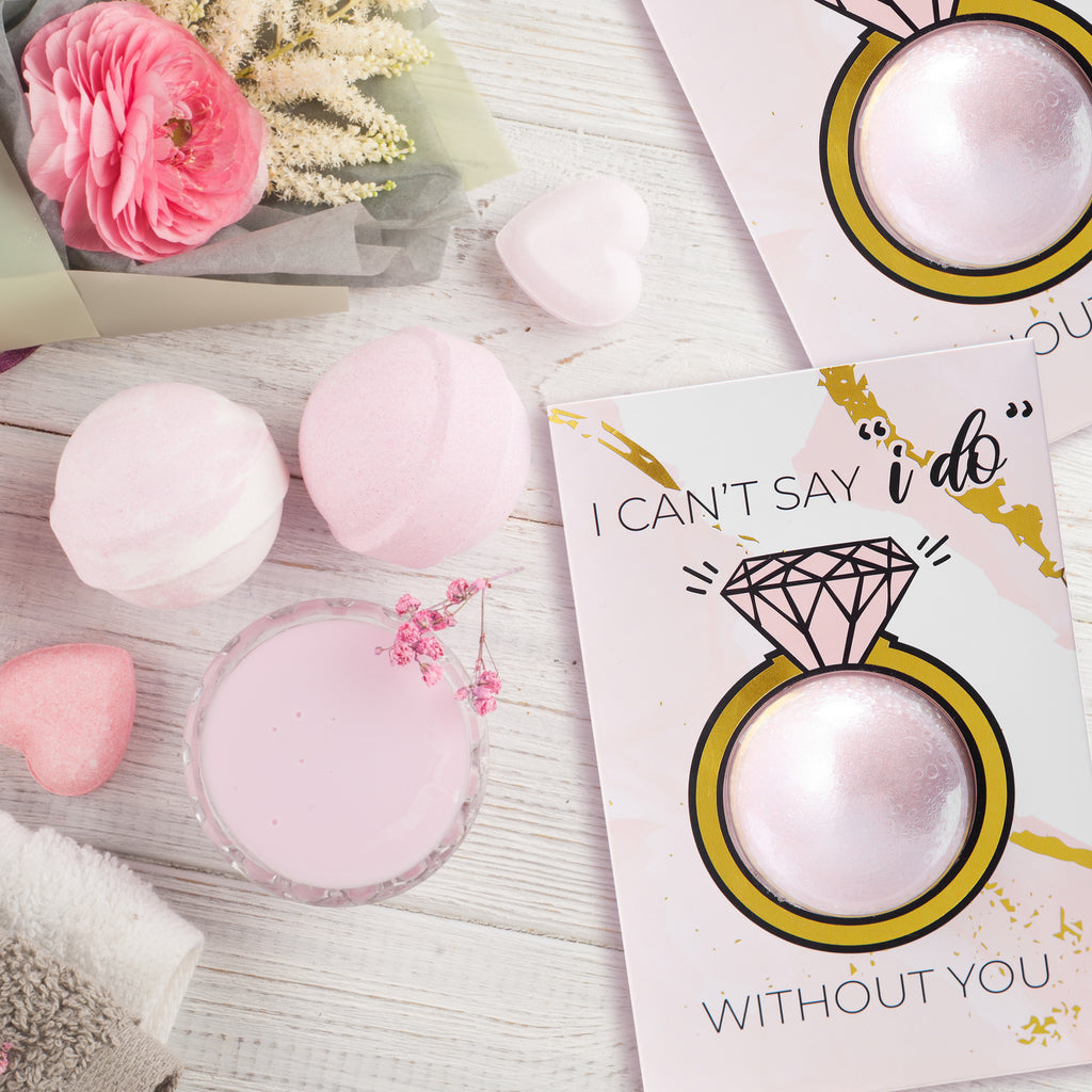 Ring Bath Bomb Greeting Cards