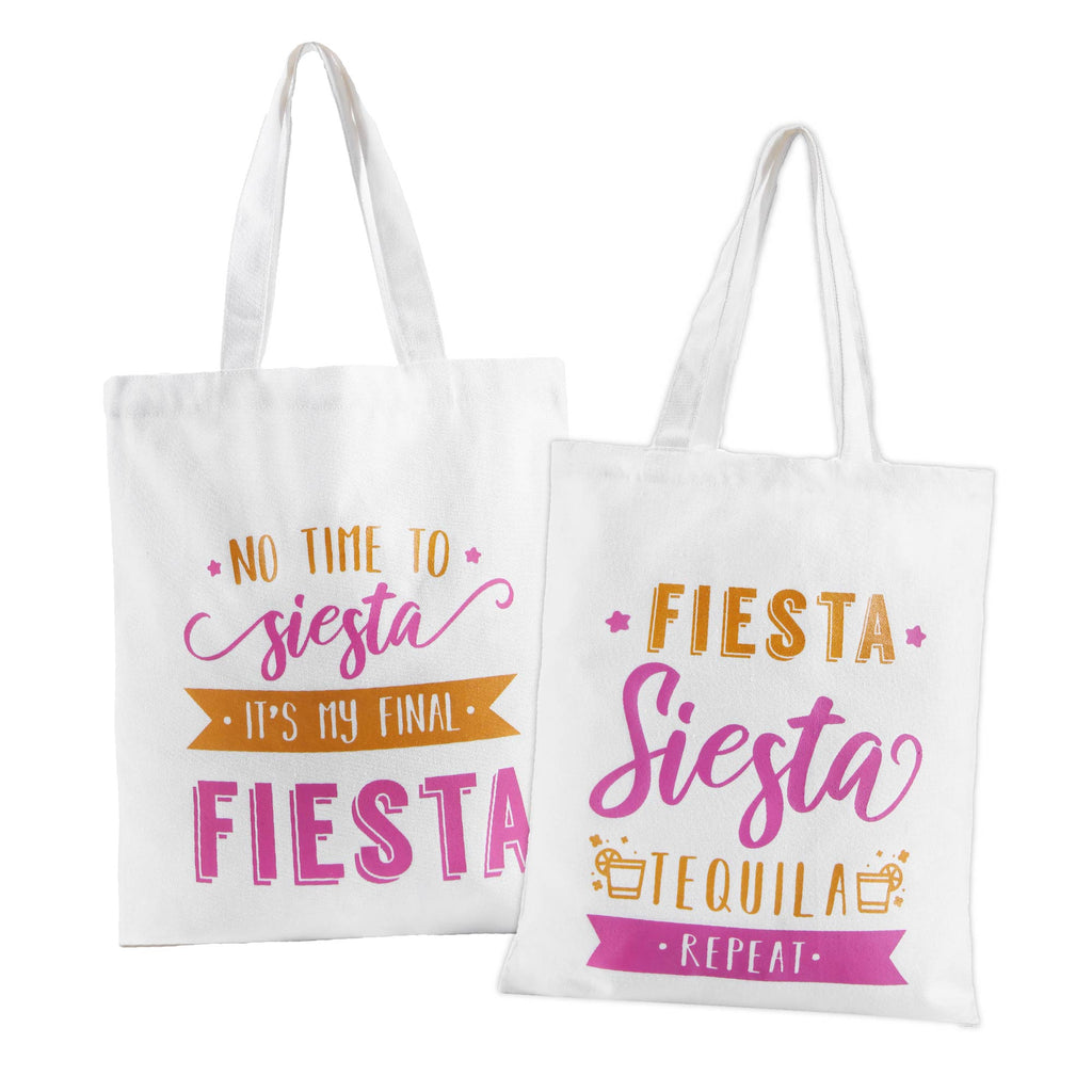 Bridesmaid Final Fiesta Canvas Bags