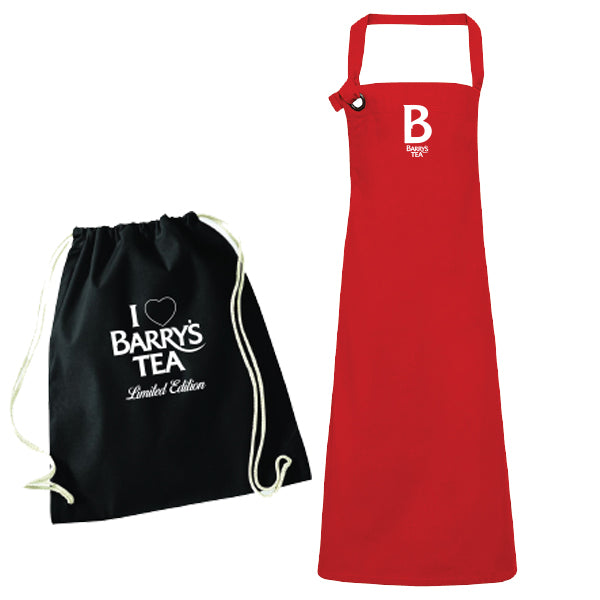 **NEW** LIMITED EDITION PREMIUM APRON – RED