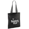 **NEW**  I LOVE BARRY'S TEA BLACK TOTE BAG