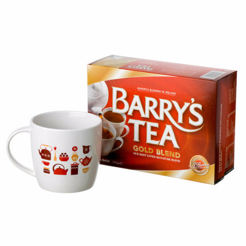 GOLD BLEND 80s & BARRY'S TEA MUG