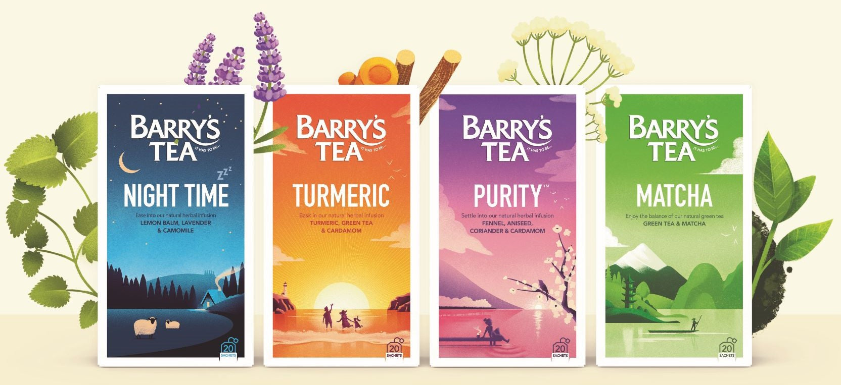 Barry's Tea Infusions - Signature Multi-Pack
