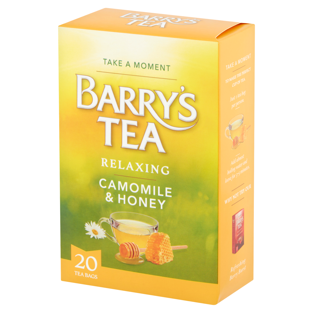 **NEW** CAMOMILE & HONEY 20 TEABAGS